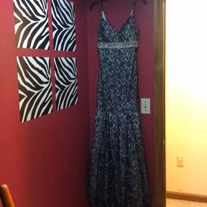 Prom dress Sequin Hearts black lace size 3